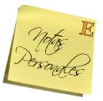 notas personales